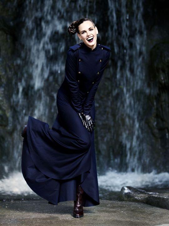 Irina Antonenko (Ирина Антоненко) model & actress. Photoshoot of model Irina Antonenko demonstrating Fashion Modeling.Fashion Modeling Photo #81781