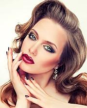 Irina Nikitina makeup artist & model (визажист & модель). Work by makeup artist Irina Nikitina demonstrating Beauty Makeup.Beauty Makeup Photo #68970