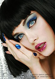 Irina Nikitina makeup artist & model (визажист & модель). Work by makeup artist Irina Nikitina demonstrating Beauty Makeup.Beauty Makeup Photo #68992