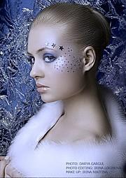 Irina Nikitina makeup artist & model (визажист & модель). Work by makeup artist Irina Nikitina demonstrating Beauty Makeup.Beauty Makeup Photo #68993