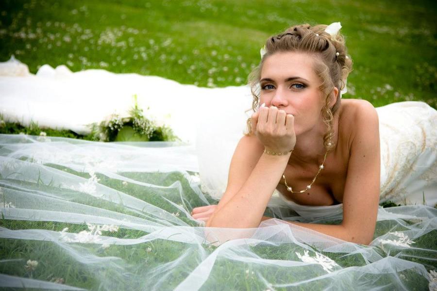 Irina Nikitina makeup artist & model (визажист & модель). Work by makeup artist Irina Nikitina demonstrating Bridal Makeup.Bridal Makeup Photo #68996