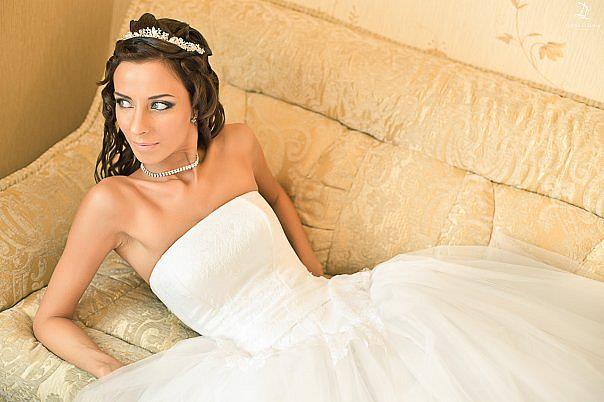 Irina Nikitina makeup artist & model (визажист & модель). Work by makeup artist Irina Nikitina demonstrating Bridal Makeup.Bridal Makeup Photo #68999