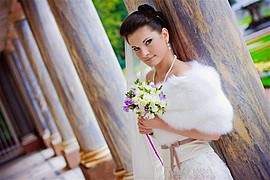 Irina Nikitina makeup artist & model (визажист & модель). Work by makeup artist Irina Nikitina demonstrating Bridal Makeup.Bridal Makeup Photo #69000