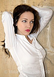 Iryna Bowman model. Photoshoot of model Iryna Bowman demonstrating Face Modeling.Face Modeling Photo #122656