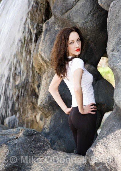 Iryna Bowman model. Photoshoot of model Iryna Bowman demonstrating Fashion Modeling.Fashion Modeling Photo #122657