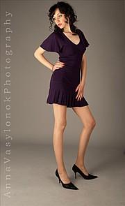 Iryna Bowman model. Photoshoot of model Iryna Bowman demonstrating Fashion Modeling.Fashion Modeling Photo #122672