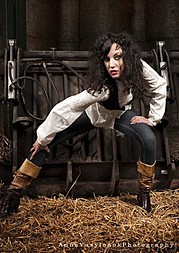 Iryna Bowman model. Photoshoot of model Iryna Bowman demonstrating Fashion Modeling.Fashion Modeling Photo #122663