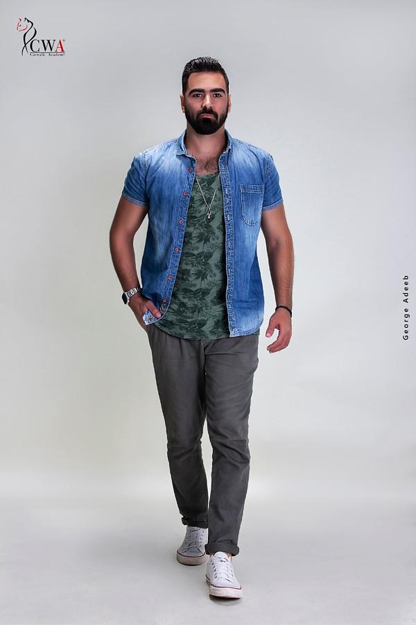 Islam Gaafar model. Photoshoot of model Islam Gaafar demonstrating Fashion Modeling.Fashion Modeling Photo #210167