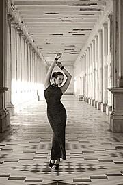 Ivana Cermakova (Ivana Čermáková) model & dancer. Photoshoot of model Ivana Cermakova demonstrating Fashion Modeling.Fashion Modeling Photo #109306