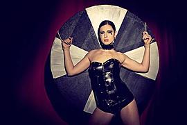 Ivana Cermakova (Ivana Čermáková) model & dancer. Photoshoot of model Ivana Cermakova demonstrating Commercial Modeling.CorsetCommercial Modeling Photo #89068
