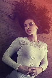 Ivana Cermakova (Ivana Čermáková) model & dancer. Photoshoot of model Ivana Cermakova demonstrating Face Modeling.Face Modeling Photo #89072