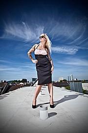 Ivonne Koerner model. Photoshoot of model Ivonne Koerner demonstrating Fashion Modeling.Fashion Modeling Photo #73903