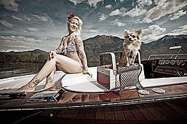 Ivonne Koerner model. Photoshoot of model Ivonne Koerner demonstrating Editorial Modeling.Editorial Modeling Photo #73905