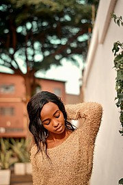 Ivy wangari is an aspiring model from the Nairobi area who has a passion for modelling and has worked with various photographers in various