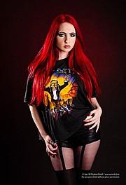 Ivy Tenebrae model. Modeling work by model Ivy Tenebrae. Photo #70406