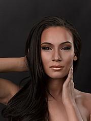 J Lynne Harris model. Photoshoot of model J Lynne Harris demonstrating Face Modeling.Face Modeling Photo #73627