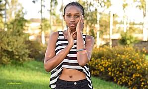 Jacinta Mungai model. Photoshoot of model Jacinta Mungai demonstrating Face Modeling.Face Modeling Photo #182886