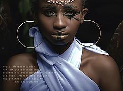 Jacinta Mungai model. Photoshoot of model Jacinta Mungai demonstrating Face Modeling.Face Modeling Photo #191365