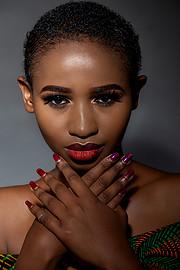 Jacinta Mungai model. Photoshoot of model Jacinta Mungai demonstrating Face Modeling.Face Modeling Photo #227510