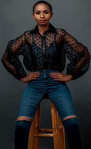 Jacinta Mungai model. Photoshoot of model Jacinta Mungai demonstrating Fashion Modeling.Fashion Modeling Photo #227511