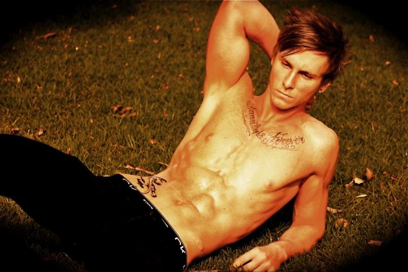 Jack Grace model. Photoshoot of model Jack Grace demonstrating Body Modeling.Body Modeling Photo #78421