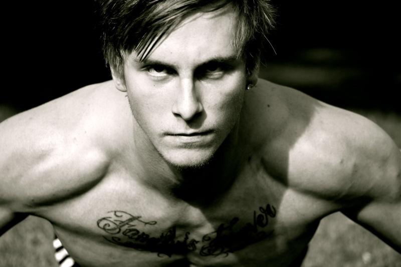 Jack Grace model. Photoshoot of model Jack Grace demonstrating Face Modeling.Face Modeling Photo #78423