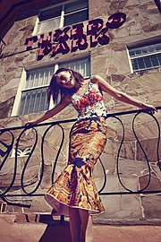 Jana Knauerova model. Photoshoot of model Jana Knauerova demonstrating Fashion Modeling.Fashion Modeling Photo #112726