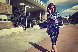 Jana Knauerova model. Photoshoot of model Jana Knauerova demonstrating Fashion Modeling.Fashion Modeling Photo #112708