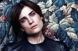 Jana Knauerova model. Photoshoot of model Jana Knauerova demonstrating Face Modeling.Face Modeling Photo #112730