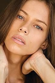 Janaina Reis model (modelo). Photoshoot of model Janaina Reis demonstrating Face Modeling.Face Modeling Photo #113604