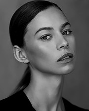 Janaina Reis model (modelo). Photoshoot of model Janaina Reis demonstrating Face Modeling.Face Modeling Photo #212410