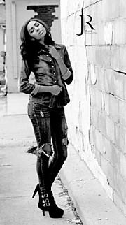 Janessa Hubbell model. Photoshoot of model Janessa Hubbell demonstrating Fashion Modeling.Fashion Modeling Photo #165935