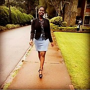 Janet kiage is a Kenyan model currently based in kisii kenya.apart from modeling janet also Is a singer-song writer and has performed in the