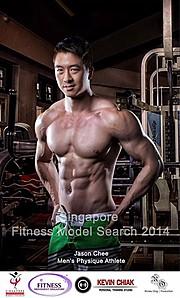 Jason Chee fitness model. Modeling work by model Jason Chee. Photo #103451