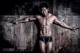 Jason Chee fitness model. Photoshoot of model Jason Chee demonstrating Body Modeling.Body Modeling Photo #103454
