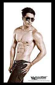 Jason Chee fitness model. Photoshoot of model Jason Chee demonstrating Body Modeling.EyewearBody Modeling Photo #103457