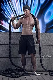 Jason Chee fitness model. Photoshoot of model Jason Chee demonstrating Commercial Modeling.Commercial Modeling Photo #103459