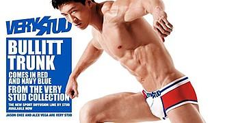 Jason Chee fitness model. Photoshoot of model Jason Chee demonstrating Body Modeling.Tear SheetBody Modeling Photo #103466