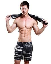 Jason Chee fitness model. Photoshoot of model Jason Chee demonstrating Fashion Modeling.Fashion Modeling Photo #103469