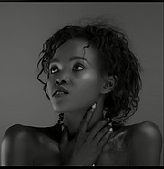 Jecci Kimani model. Photoshoot of model Jecci Kimani demonstrating Face Modeling.Face Modeling Photo #224876