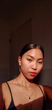 Jeeny Artiaga model. Photoshoot of model Jeeny Artiaga demonstrating Face Modeling.Face Modeling Photo #230090