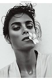 Jenna Pietersen model. Photoshoot of model Jenna Pietersen demonstrating Face Modeling.Face Modeling Photo #142034