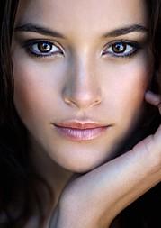 Jenna Pietersen model. Photoshoot of model Jenna Pietersen demonstrating Face Modeling.Face Modeling Photo #142058