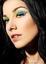 Jennifer Corona makeup artist. Work by makeup artist Jennifer Corona demonstrating Beauty Makeup.Beauty Makeup Photo #70797