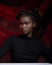 Jennifer Mwengei model. Photoshoot of model Jennifer Mwengei demonstrating Face Modeling.Face Modeling Photo #218330