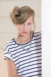 Jenny Tokarev model & actress. Photoshoot of model Jenny Tokarev demonstrating Face Modeling.Face Modeling Photo #162995
