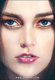 Jessica Burgess model. Photoshoot of model Jessica Burgess demonstrating Face Modeling.Face Modeling Photo #78660