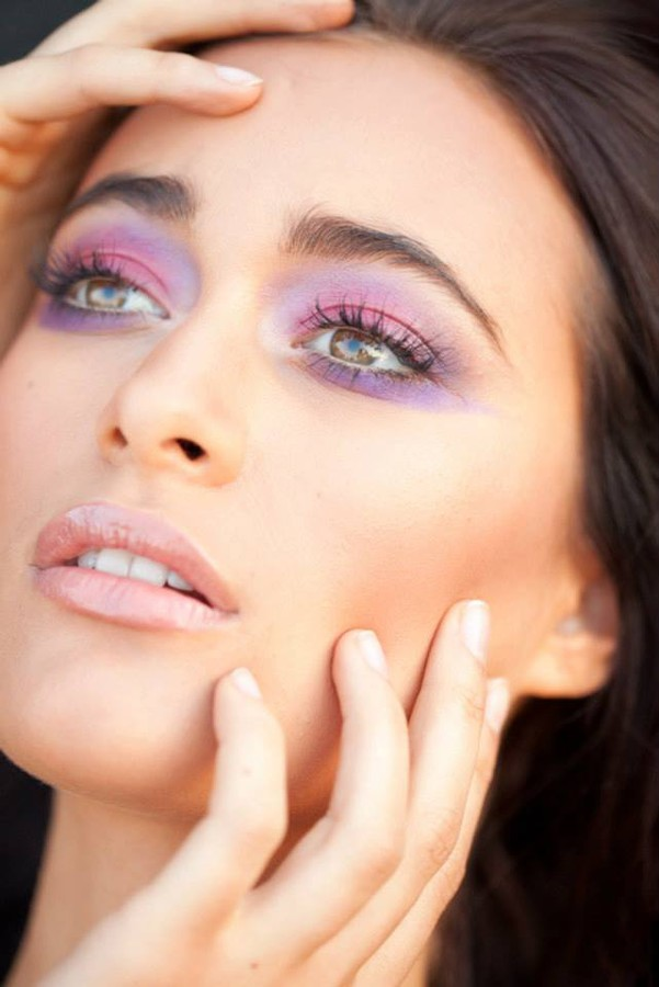 Jessica Hoffman makeup artist & hair stylist. Work by makeup artist Jessica Hoffman demonstrating Beauty Makeup.Face CloseupPortrait Photography,Beauty Makeup Photo #59317