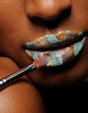 Jessica Hoffman makeup artist & hair stylist. Work by makeup artist Jessica Hoffman demonstrating Creative Makeup.Creative Makeup Photo #59334