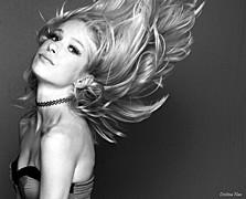Jessica Layla model. Photoshoot of model Jessica Layla demonstrating Face Modeling.Face Modeling Photo #172644